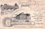 1899 Hagen i/W. Vorläufer-Litho/Gruss aus Hagen i/W./Th. Feldhaus/Gute... 55,00 EUR