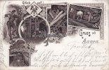 1900 Annen Litho/Ansichtskarte/Postkarte/Gruss aus Annen./Glück auf! 2... 59,00 EUR