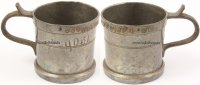1929-1963 Iserlohn Zinnmaß 0,05 Liter mit...