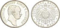 2 Mark 1914 E. SACHSEN Friedrich August II...