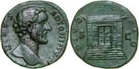 Æ SESTERTIUS 161 AD Imperial DIVUS ANTONINUS PIUS, Rome/ALTAR   480,00 EUR free shipping