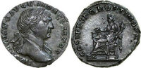 Imperial AR Denarius TRAJANUS, Rome/AEQVITAS