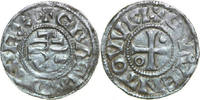 AR Denier 840-877 AD Carolingian CHARLES II THE BALD, Quentovic/CROSS ss  280,00 EUR  +  12,00 EUR shipping