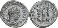 AR Denarius 220 - 221 AD Imperial ELAGABALUS, Rome/STANDARDS vz-  120,00 EUR