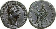 Imperial Æ Dupondius TRAJANUS, Rome/ABUNDANTIA