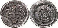 Hungary  1116-1131 EF ISTVAN II, AR Denar (Anonymous)/CROSS 100,00 EUR