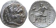 AR Drachm 336 - 323 BC v. Chr. Greece ALEXANDER III, Miletos/ZEUS unz  450,00 EUR free shipping