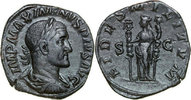 Æ Sestertius 236 AD Imperial MAXIMINUS I, Rome/FIDES vz  320,00 EUR