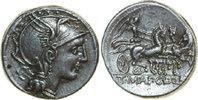 AR Denarius 111 - 110 BC v. Chr. Republican APPIUS CLAUDIUS PULCHER, Ro... 280,00 EUR
