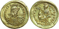 AV Solidus 430 - 440 AD Imperial THEODOSIUS II, Constantinople/CONSTANT... 1020,00 EUR free shipping