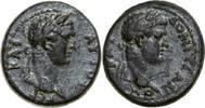 79 - 81 AD Provincial TITUS & DOMITIANUS, Æ-18, Germe/BUSTS   220,00 EUR