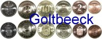 LATVIA    Set of 6 coins 2000, 1-50 Santimu UNC 7,00 EUR 