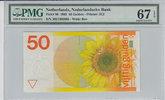 50 Gulden 1982 Netherlands NETHERLANDS P.96 -  1982 PMG 67 EPQ PMG Grad... 200,00 EUR  +  12,00 EUR shipping
