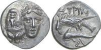 AR Drachm 400 - 350 BC v. Chr. Greece THRA...