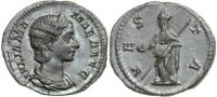 Roman Empire  222-235 AD. EF JULIA MAMAEA,...