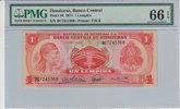1 Lempira 1974 Honduras HONDURAS P.57 -  1974 PMG 66 EPQ PMG Graded 66 ... 50,00 EUR  +  12,00 EUR shipping