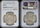 2 ½ Gulden  Netherlands NETHERLANDS, Willem II 1847 NGC AU 58 AU 58  180,00 EUR  +  12,00 EUR shipping