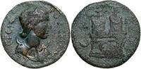 249 - 251 AD Provincial HERENNIA ETRUSCILLA, Æ-24, Rome/ALTARS ss-  350,00 EUR free shipping