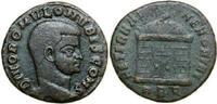 Æ Follis 309 AD Imperial DIVUS ROMULUS, Rome/EAGLE vz-  340,00 EUR free shipping