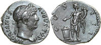 AR Denarius 124 - 128 AD Imperial HADRIANUS, Rome/GENIUS vz-  240,00 EUR  +  12,00 EUR shipping