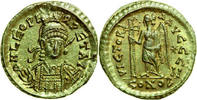 AV Solidus 462 - 466 AD Imperial LEO I, Constantinople/VICTORY vz  820,00 EUR free shipping