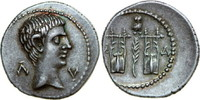 AR Drachm 27 BC v. Chr. Provincial AUGUSTUS, Masicytus/CITHARAE vz  840,00 EUR free shipping