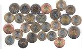 27x DIFFERENT UNC BI-METALLIC COINS unz  90,00 EUR  +  12,00 EUR shipping