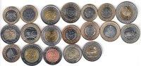 AFRICA 19x DIFFERENT UNC BI-METALLIC COINS unz  62,00 EUR  +  12,00 EUR shipping