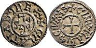 AR Denar 872 Carolingian CHARLES II THE BALD, Cinomanis/CROSS   320,00 EUR free shipping