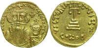 AV SOLIDUS 654 - 659 AD Byzantine CONSTANS II, Constantinople/CROSS   490,00 EUR free shipping