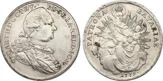 Taler 1779 H.ST. Deutschland - Bayern Karl...