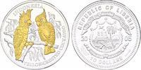 10 Dollar 2005 Liberia Indonesia - Kakadu pp mit Augen aus Diamanten, G... 50,00 EUR incl. VAT.,  +  9,90 EUR shipping