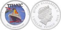 Dollar 2012 Tuvalu 'R.M.S. Titanic - 100th Anniversary' (im Originaletu... 90,00 EUR incl. VAT., +  9,90 EUR shipping