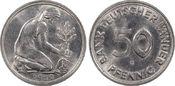 50 Pfg 1950-G Bundesrepublik BDL 1950-G St...