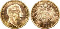 20 RM 1910-A Kaiserreich Preussen Wilhelm II fast Stg., PCGS MS64  495,00 EUR  plus 10,00 EUR verzending