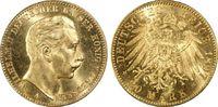 20 RM 1897-A Kaiserreich Preussen Wilhelm II fast Stg., PCGS MS64+, Pra... 590,00 EUR  plus 15,00 EUR verzending