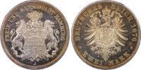 2 RM 1876-J Kaiserreich Hamburg Free City of Hamburg PP-, PCGS PR64+ CA... 3490,00 EUR free shipping