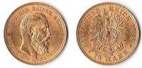 10 Mark, 1888, Deutschland, Kaiserreich,Königreich Preußen,  vz-st.,  255,00 EUR  Excl. 5,00 EUR Verzending