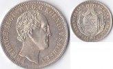 1/3 Taler 1854 Deutschland Königreich Sachsen,Friedrich August II vz  250,00 EUR  Excl. 5,00 EUR Verzending