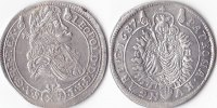 15 Kreuzer, 1687,Kremnitz, Römisch Deutsches Reich, Leopold I.,1657-170... 150,00 EUR  Excl. 5,00 EUR Verzending