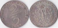 2/3 Taler,Handelsmünze, 1797, Deutschland, Königreich Preussen,Friedric... 950,00 EUR  Excl. 10,00 EUR Verzending