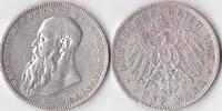 5 Mark, 1902, Deutschland, Kaiserreich, Sachsen-Meiningen, sehr schön,  205,00 EUR  excl. 5,00 EUR verzending