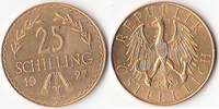 25 Schilling, 1927,Wien, Österreich,  vz-st.,  255,00 EUR  Excl. 5,00 EUR Verzending