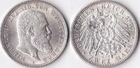 Zwei Mark, 1907, Deutschland, Kaiserreich,Königreich Württemberg vz-st.... 89,00 EUR  Excl. 3,50 EUR Verzending