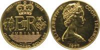 100 Dollars Gold 1977 Cook Islands Elisabeth II. seit 1952. Polierte Pl... 340,00 EUR  +  5,00 EUR shipping