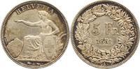 Schweiz-Eidgenossenschaft 5 Franken 1851  A Leicht berieben fast vorzügl... 375,00 EUR  plus 5,00 EUR verzending