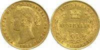 One Sovereign Gold 1866 Australien Victoria 1837-1901. Kl.Randfehler, k... 370,00 EUR  +  5,00 EUR shipping