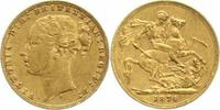 One Pound Gold 1874  S Australien Victoria 1837-1901. Sehr schön  320,00 EUR  +  5,00 EUR shipping