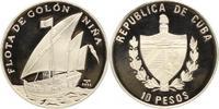 10 Pesos 2005 Kuba (Cuba) Republik seit 1902. Polierte Platte  32,00 EUR  +  5,00 EUR shipping