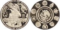 5 Pesos 2003 Mexiko Republik seit 1870. Polierte Platte  45,00 EUR  +  5,00 EUR shipping